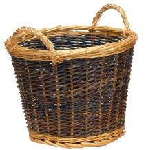 Log Basket Duo Tone - Small